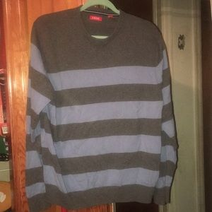 Izod sweater washed but not worn.